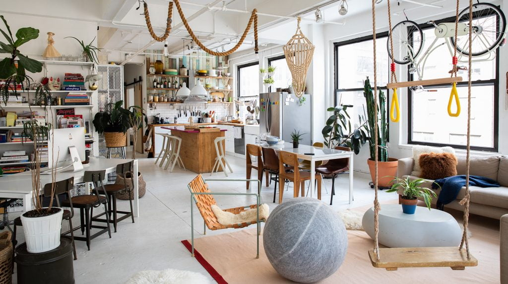A home in New York vetted by the Plum Guide. Photo via the Plum Guide