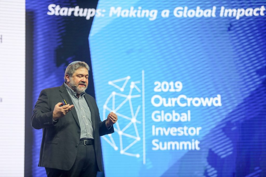 OurCrowd founder Jon Medved at the Global Investor Summit in Jerusalem March 7, 2019. Noam Moskowitz photography