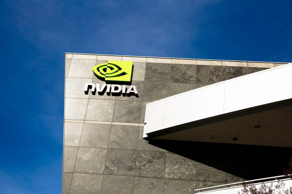 "An Nvidia building in Santa Clara, CA. <a href=""https://depositphotos.com/search/nvidia.html?qview=192671160"" target=""_blank"" rel="
