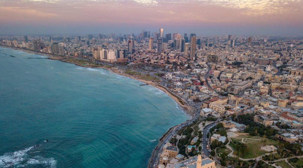 An aerial shot of Tel Aviv-Jaffa. Photo by Shai Pal on Unsplash