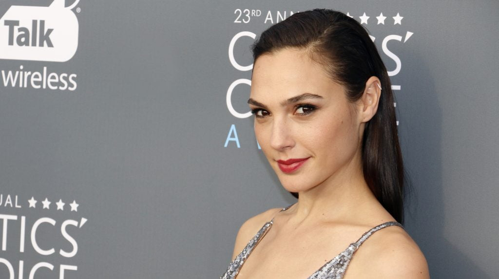 Israeli actress and model Gal Gadot. Deposit Photos