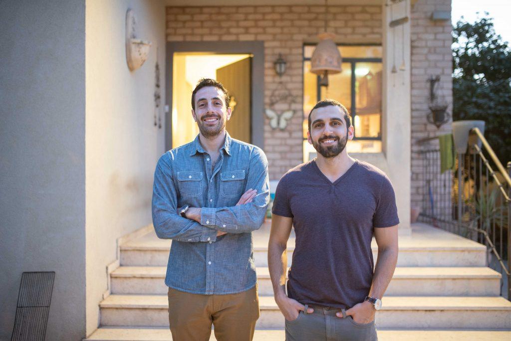 Niv Saar and Ori Pearl, founders of Bevatza. Photo by Or Kaplan