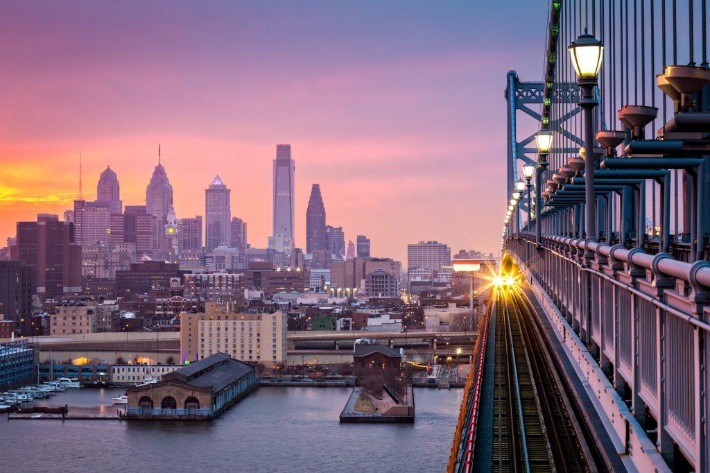 Philadelphia cityscape. Deposit Photos
