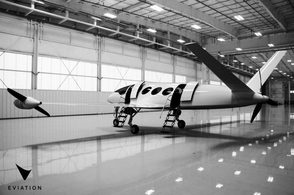 Eviation Aircraft's Alice. Courtesy
