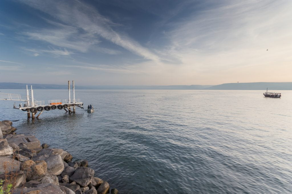A view of the Sea of Galilee in northern Israel. Deposit Photos