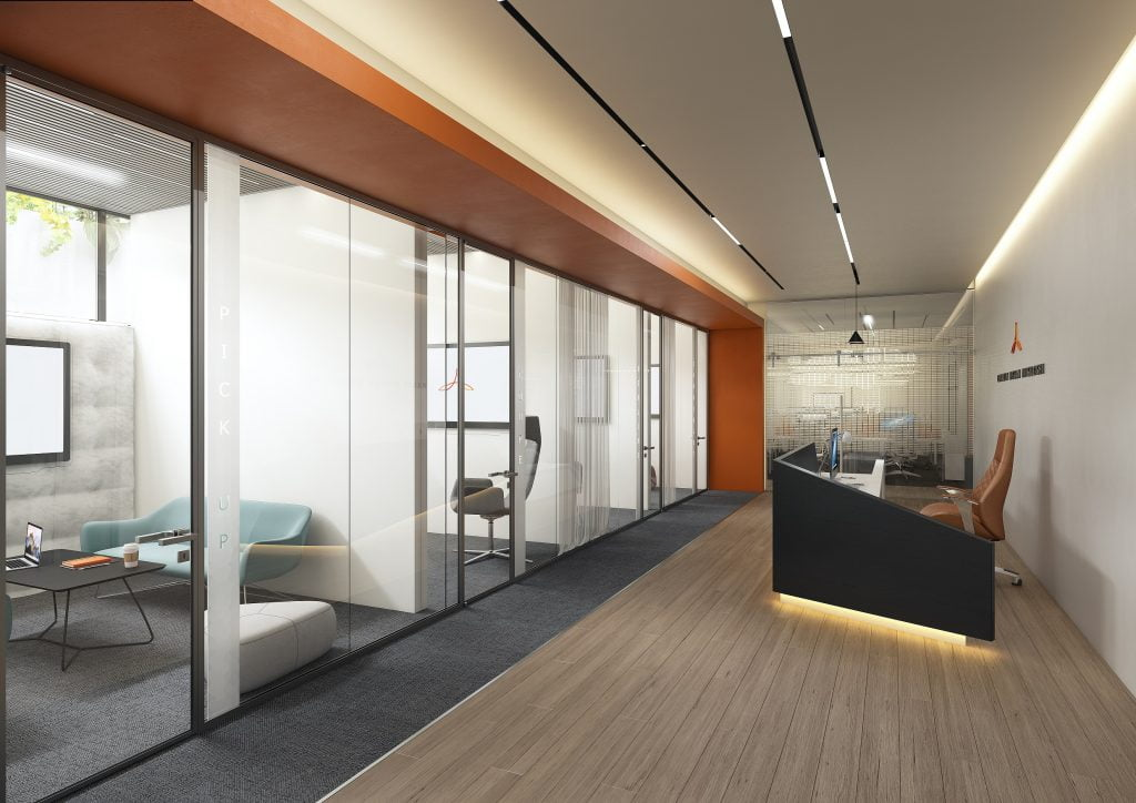 The lobby of the Alliance Innovation Lab Tel Aviv. Courtesy
