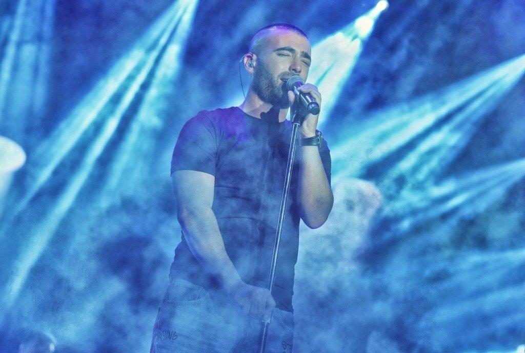 Israeli singer Omer Adam. Photo by Sharon Revivo