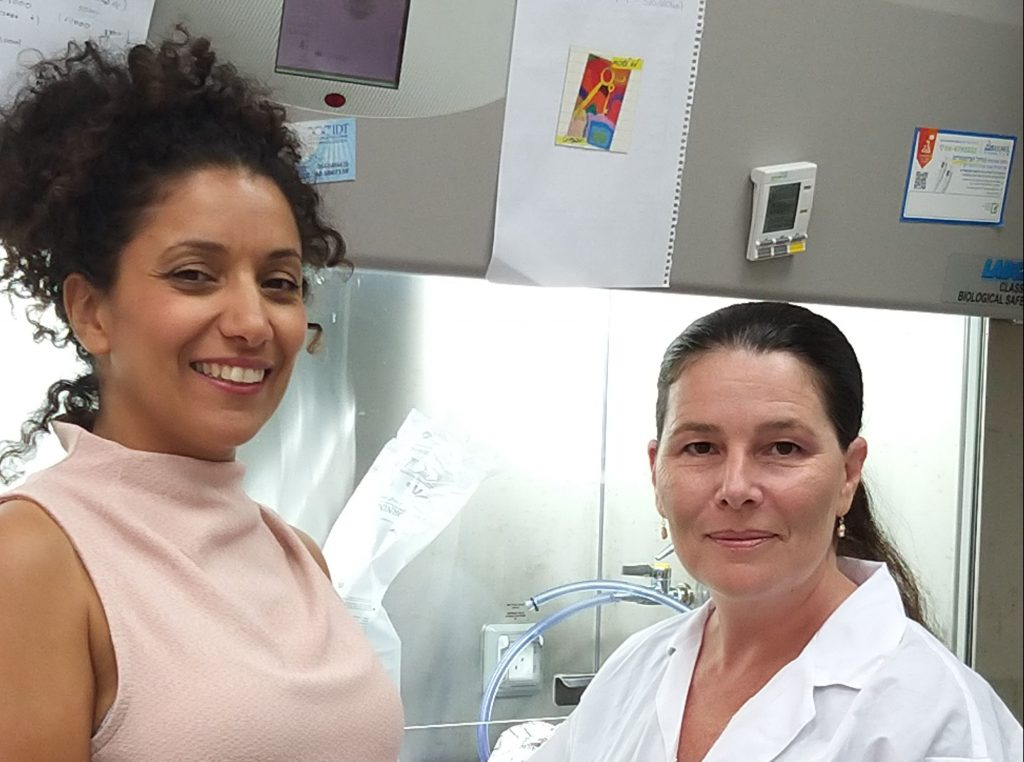TAU's Prof. Carmit Levy, left, and Dr. Tamar Golan, right. Courtesy