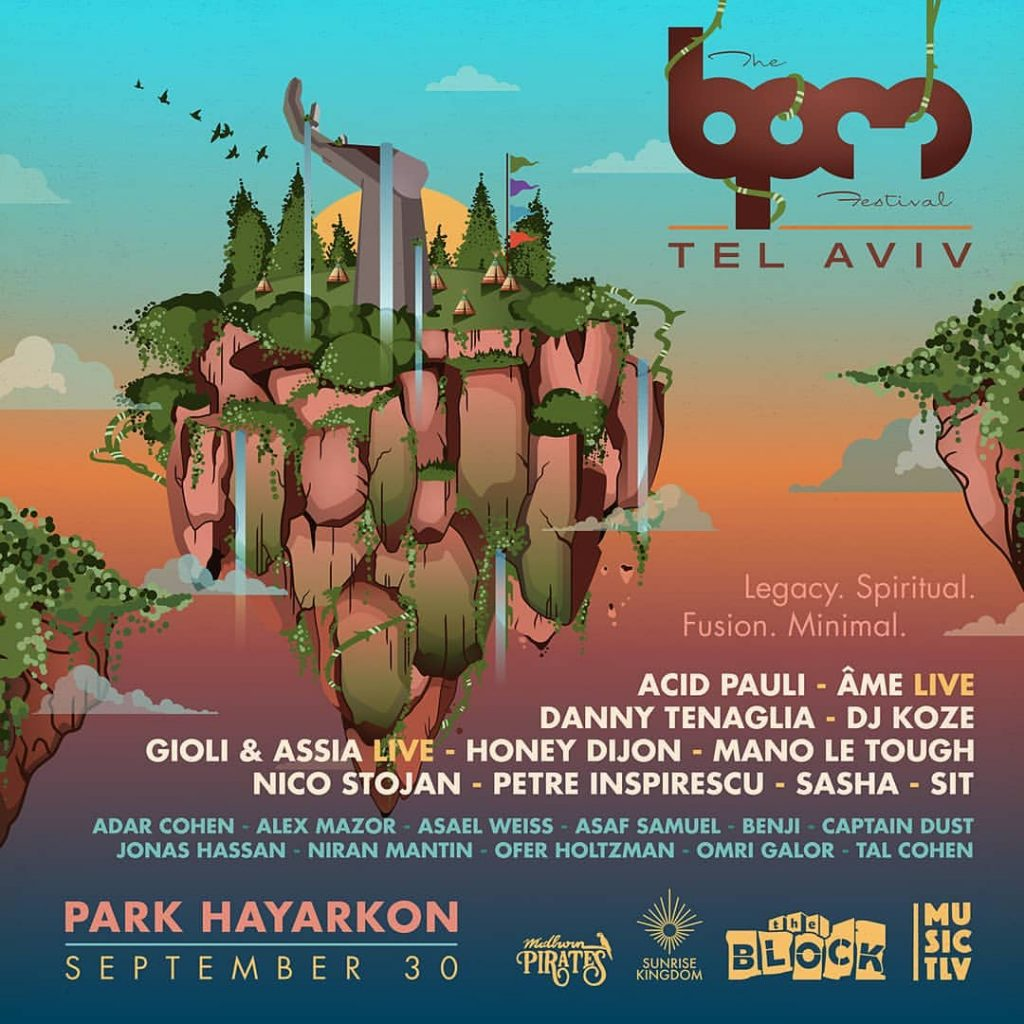 Annual Electronic Music Festival BPM Comes To Tel Aviv This