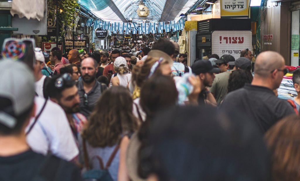 Mahane Yehuda Market in Jerusalem. Photo by Yanny Mishchuk on Unsplash