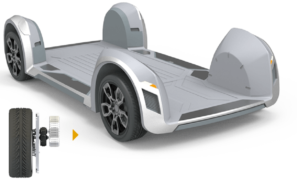 Israeli Startup REE Reimagines Vehicles With Futuristic, Flat Chassis Design | Design News