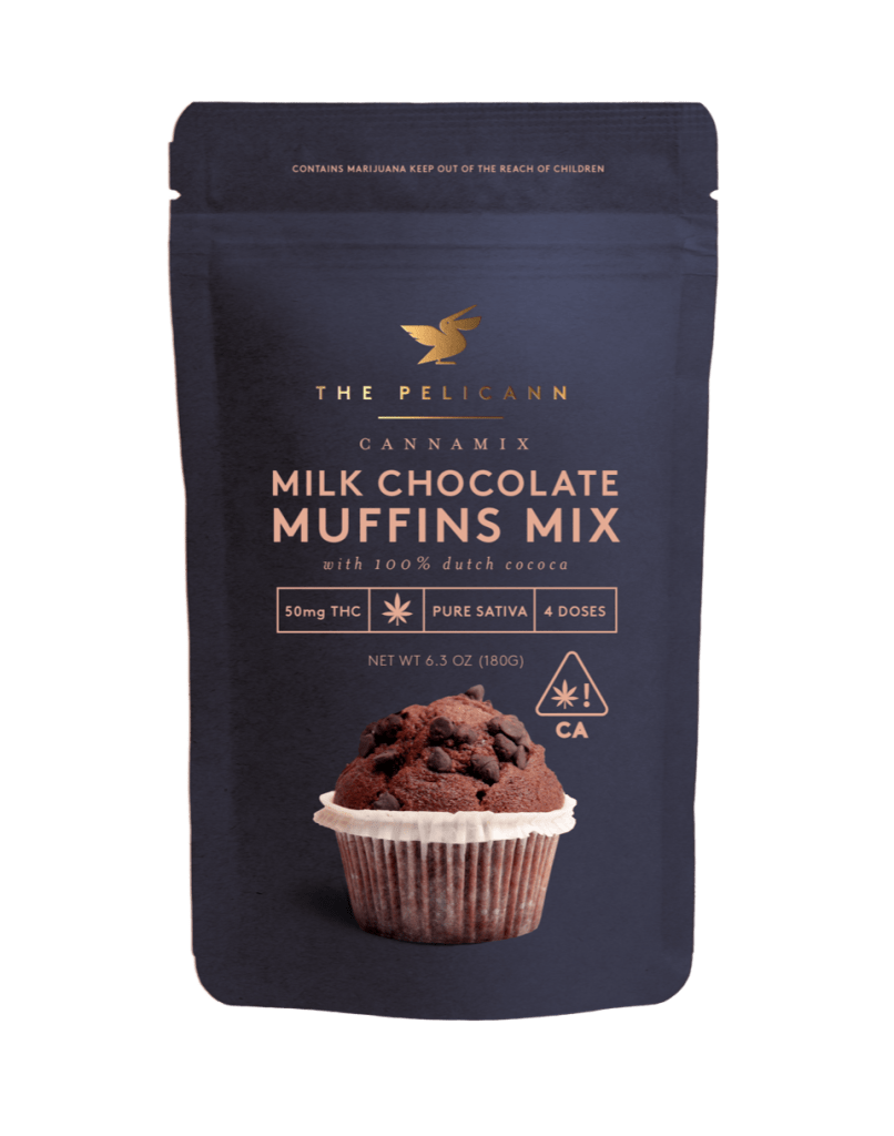 Chocolare muffins mix from Cannibble's brand The Pelicann. Courtesy