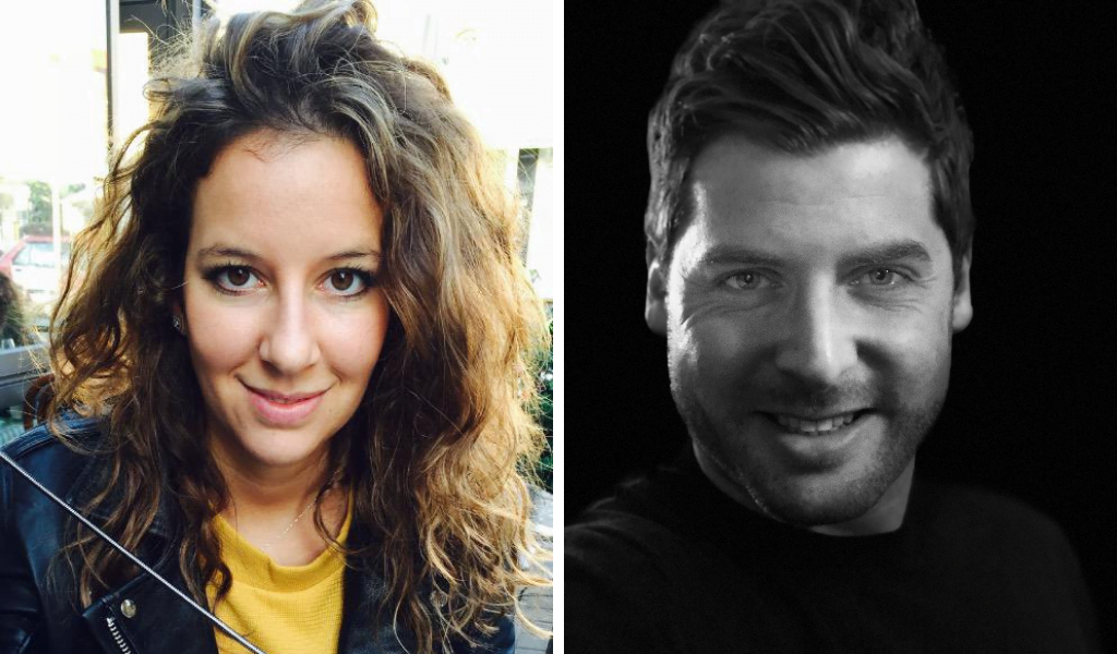 SpareEat co-founders Laetitia Jessner and Elie Fischer. Courtesy