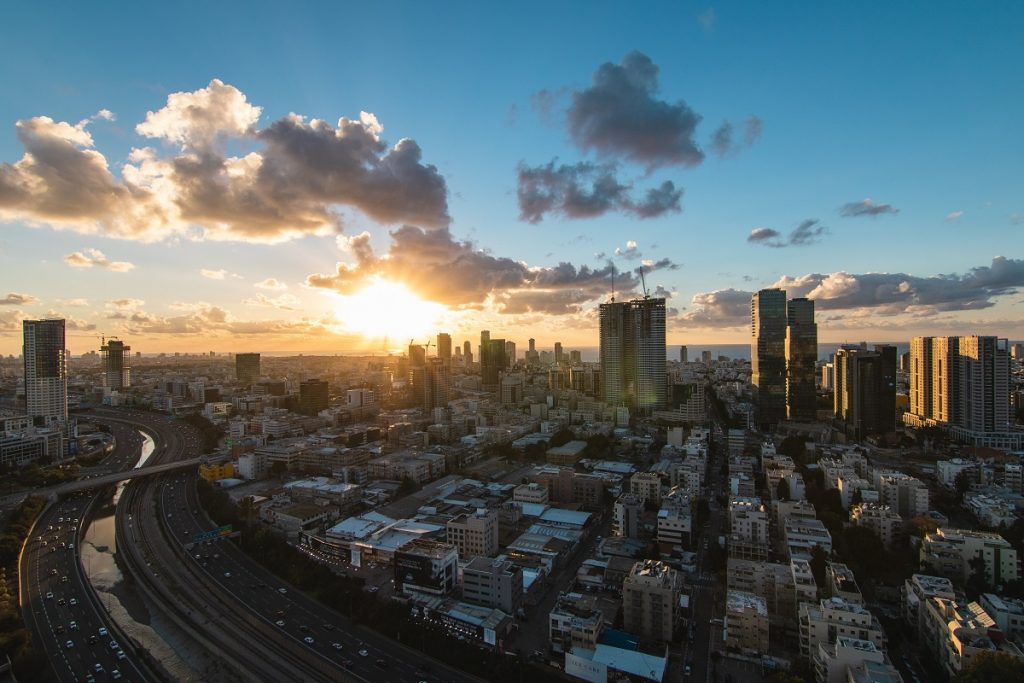 The Tel Aviv cityspace. Photo by Daniel Lerman on Unsplash