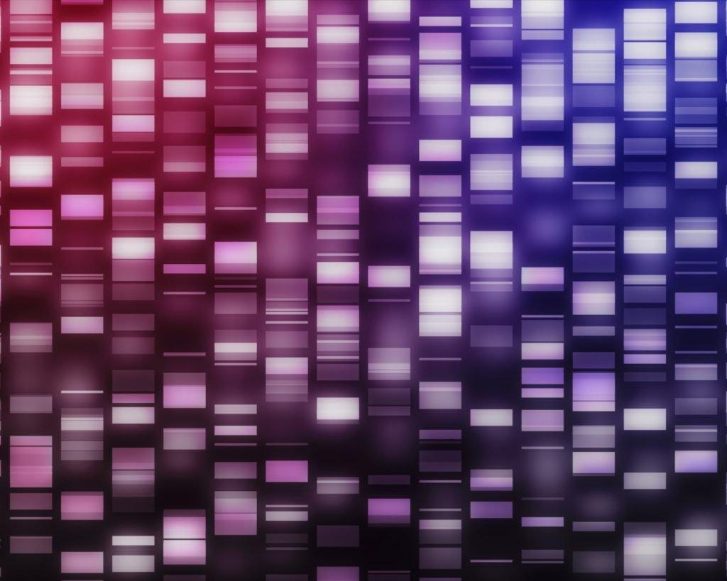 An illustration of DNA strands. Deposit Photos
