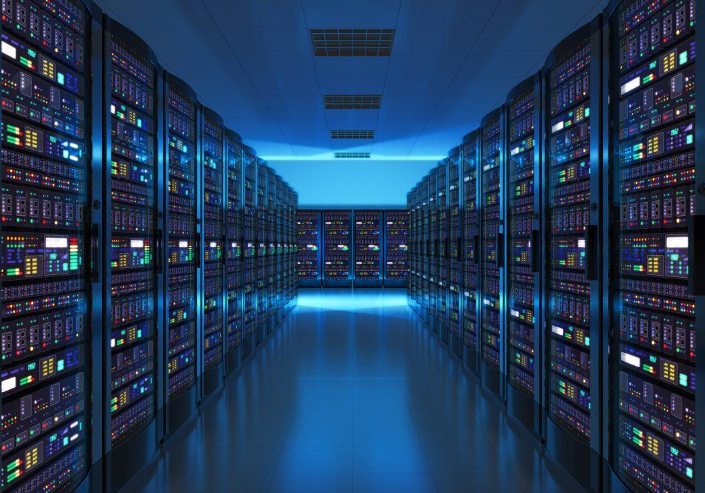 Data Center. Deposit Photos