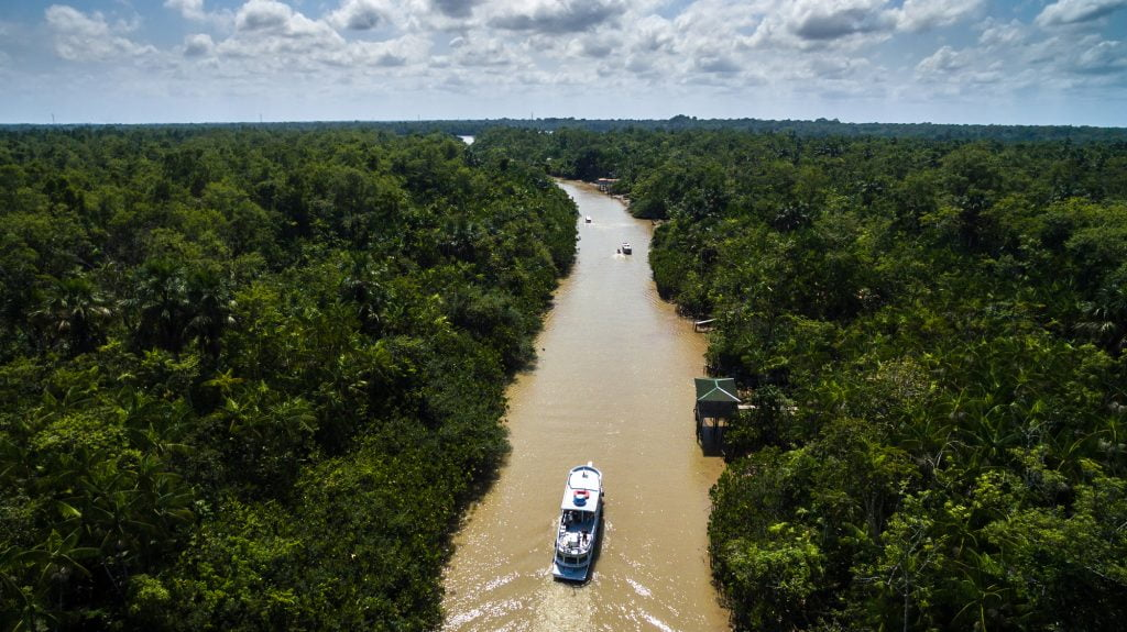 The Amazon river. Deposit Photos