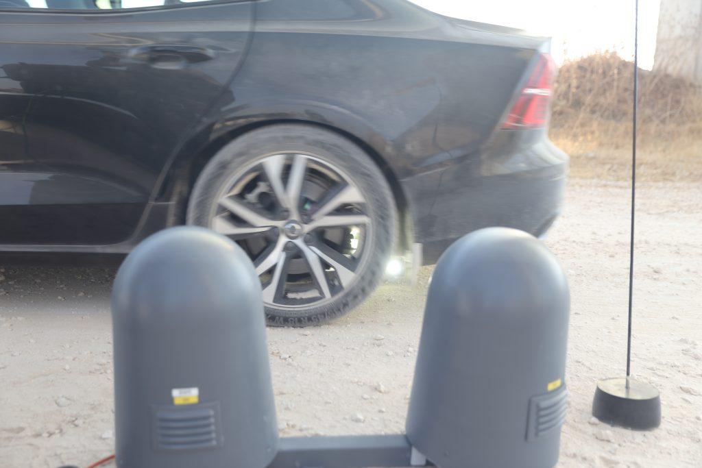 UVEye's Artemis tire inspection system. Courtesy