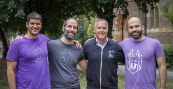 From left to right: Assaf Hefetz, founder and CTO, Guy Podjarny, founder and President, Peter McKay, CEO, and Danny Grander, founder and security lead. Courtesy