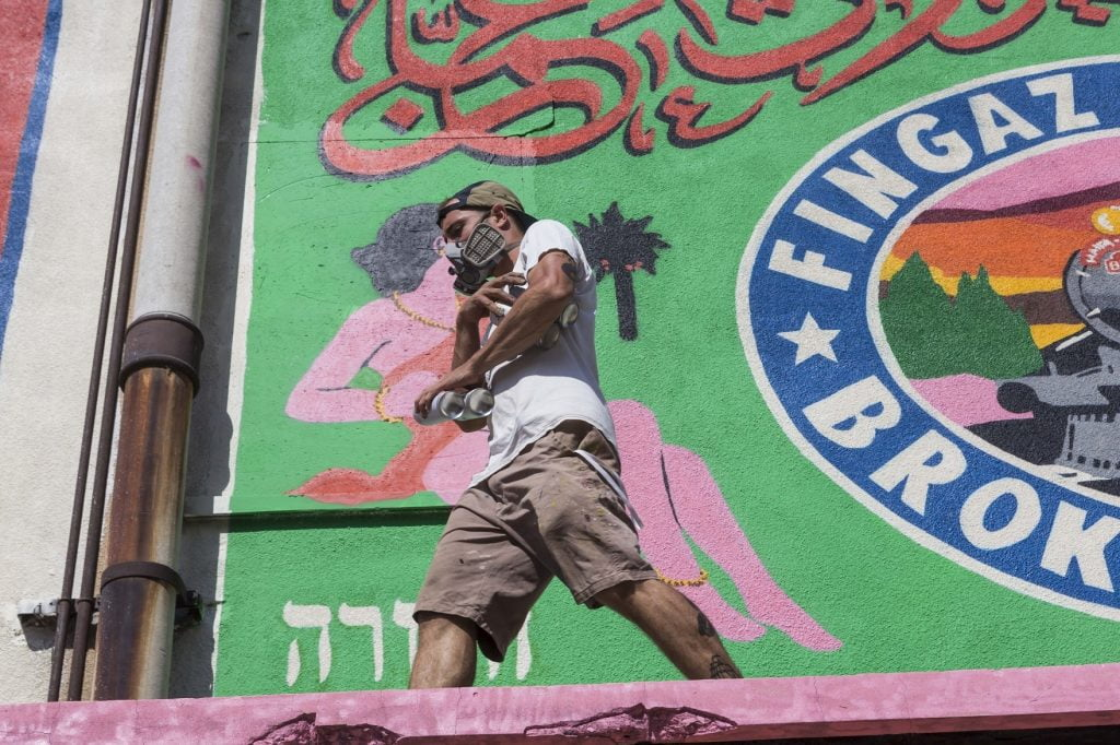 Railways To Heaven: Israel's Foremost Graffiti Collective Recalls A Connected Mideast