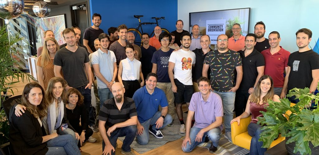 The first group of participating Israeli startups in Intel's 'Ignite' accelerator program. Courtesy