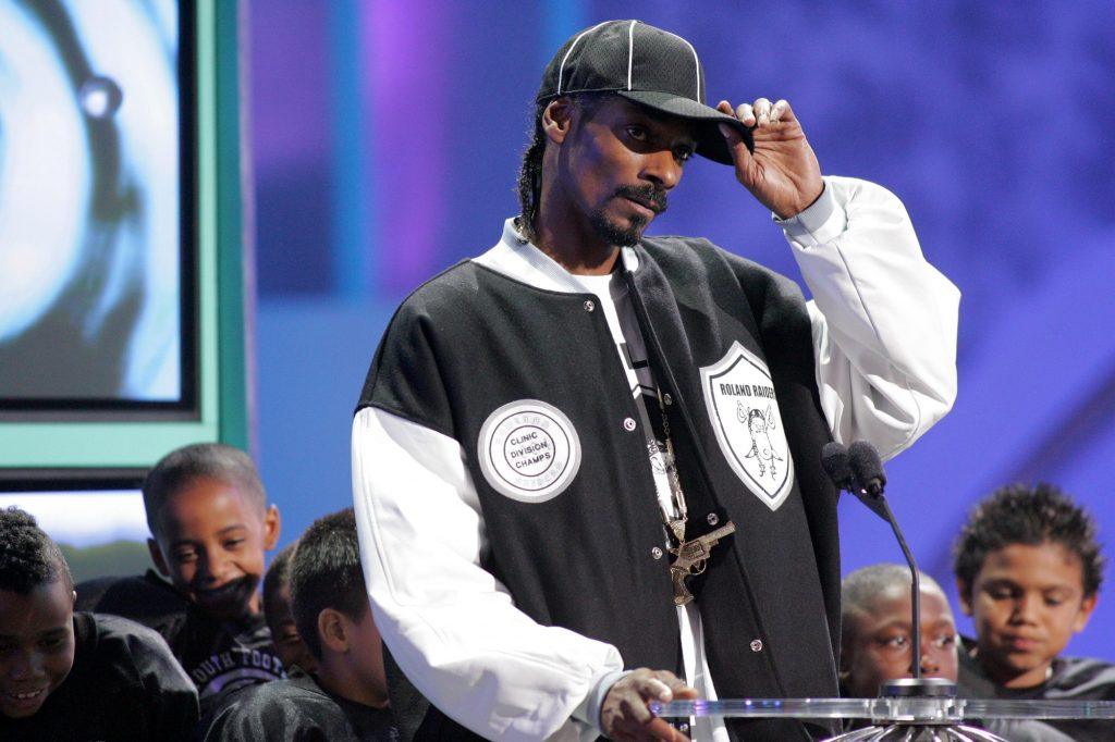 Snoop Dogg at the World Music Awards Show in August 2015. Deposit Photos