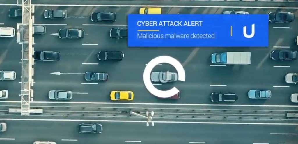 Upstream Security's solution. Screenshot