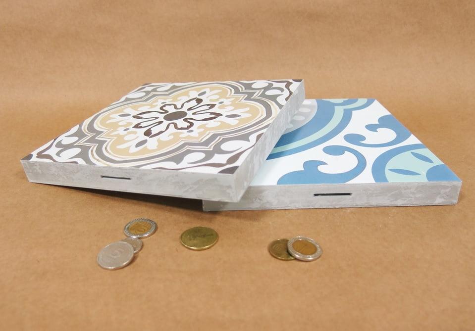 Tile biggy bank. Courtesy of Shaul Cohen