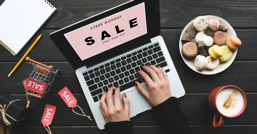 Online shopping. Illustrative. Deposit Photos