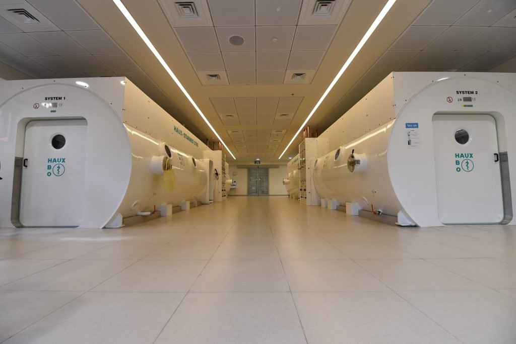 HBOT lounges at the Sagol Center. Courtesy