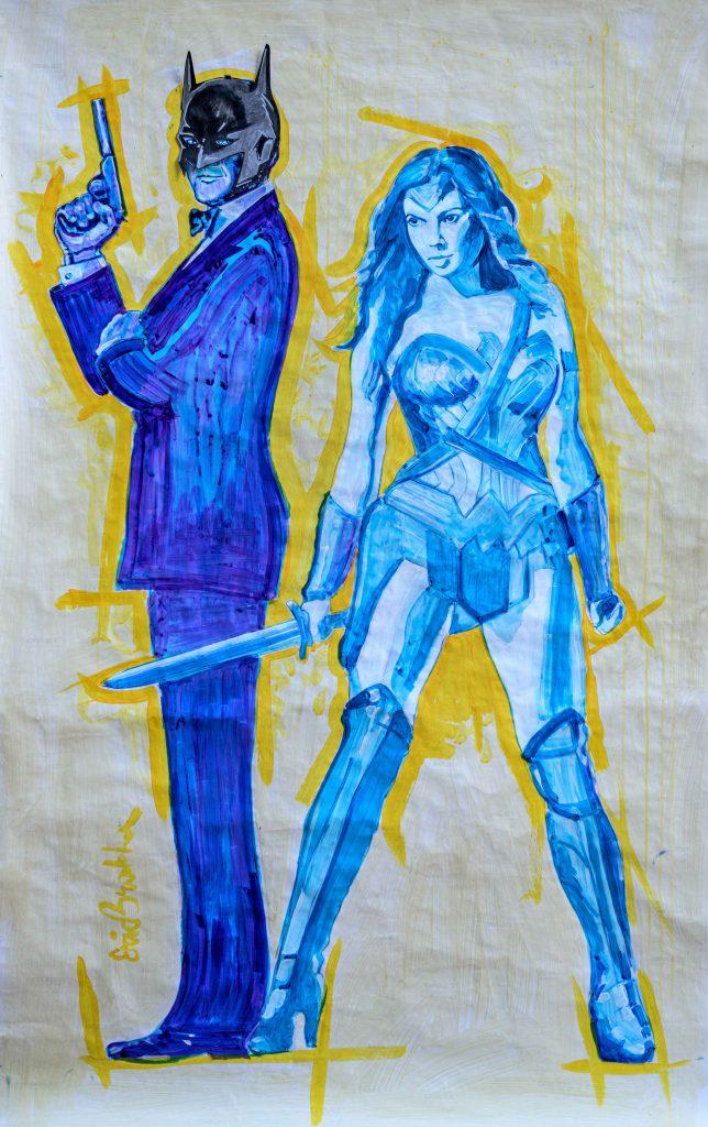 Batman artwork by Daniel Siboni and Eric Brakh. Courtesy