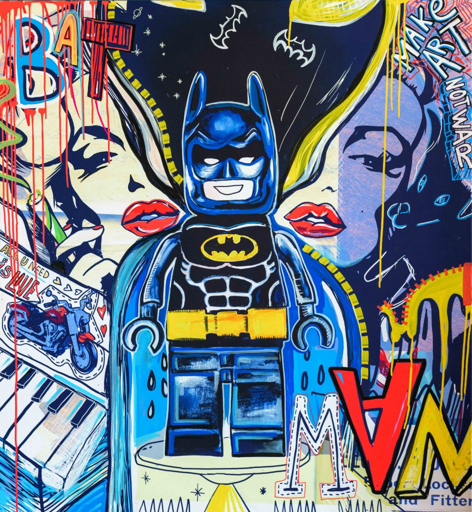 Batman artwork by Katia Grishevsky. Courtesy