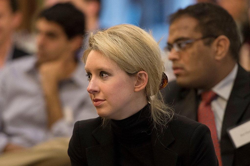 Theranos founder Elizabeth Holmes in 2013.  Wikimedia/Public Domain