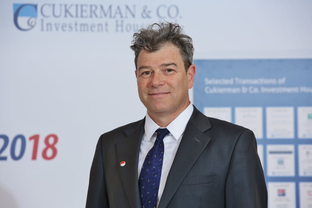 Haggai Ravid, CEO of Cukierman and Co. Investment House. Photo: Dror Sithakol