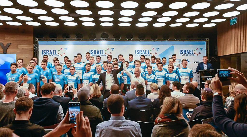 The Israel Start-Up Nation team will compete in the Tour de France next year. Photo: Noa Arnon