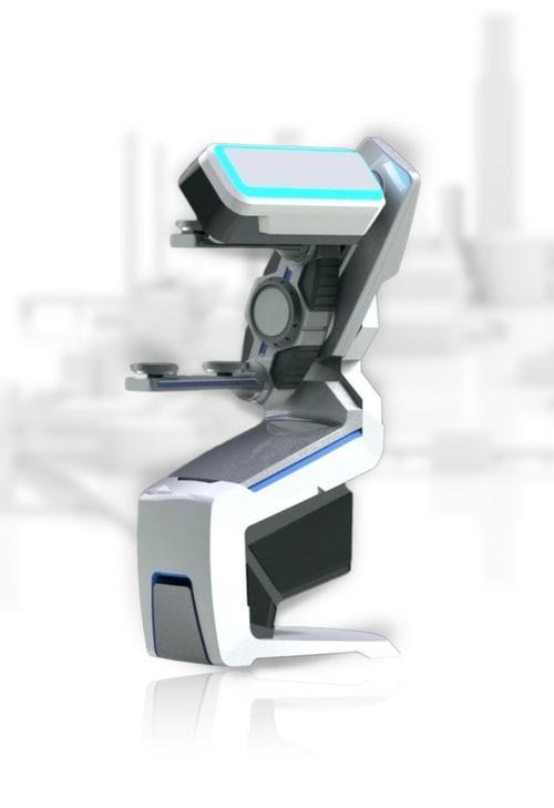 The MusashiAI visual inspector robot. Photo via SixAI's website