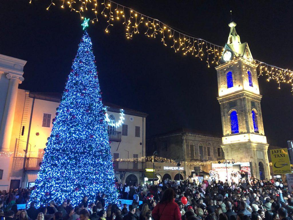 Christmas in Jaffa. Photo: Tel Aviv Municipality