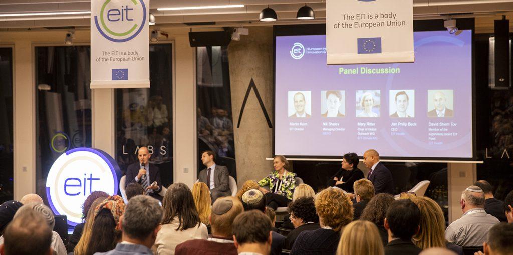 An EIT event in Tel Aviv. Photo: EIT Hub Israel