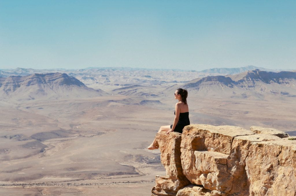 Negev desert landscape. Deposit Photos