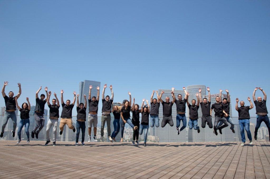 Segasec team. Photo: Elad Grubner
