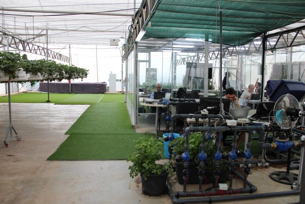 Netafim's NetBeat Lab in Kibbutz Magal. Courtesy