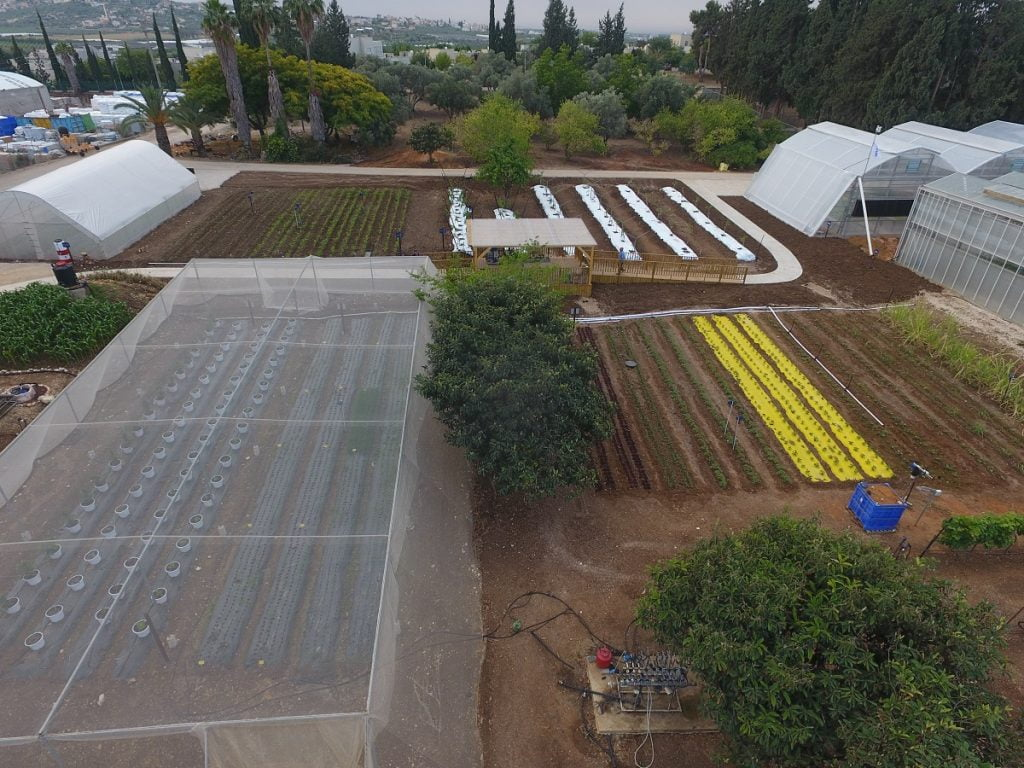 Netafim's precision irrigation center in Kibbutz Magal. Courtesy