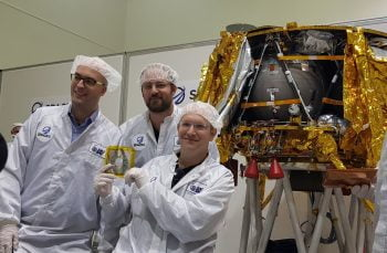 SpaceIL founders. Courtesy