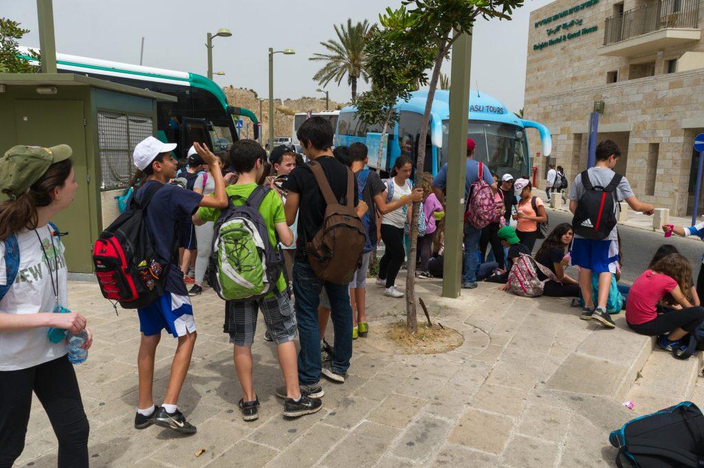 Israeli pupils. Illustrative. Deposit Photos