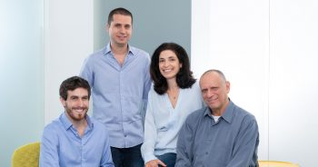 The Grove Ventures team from left to right: Lotan Levkowitz, Omri Green, Sigalit Klimovsky, and Dov Moran. Photo: David Grab