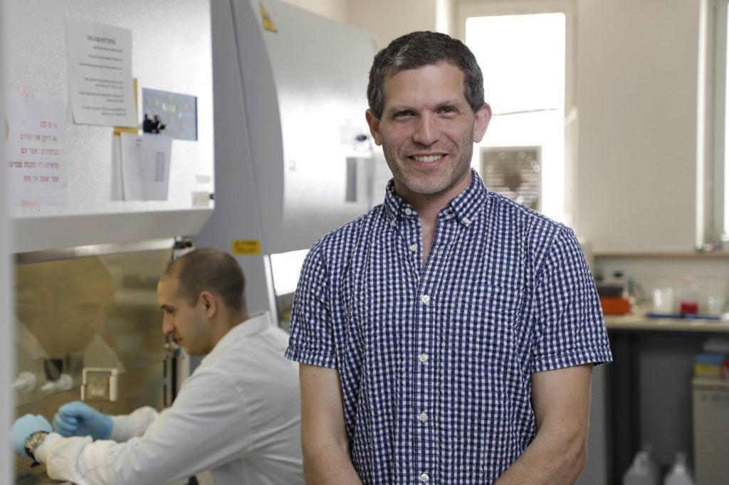 Dr. Ben Maoz. Photo: Yonatan Tzur via Tel Aviv University