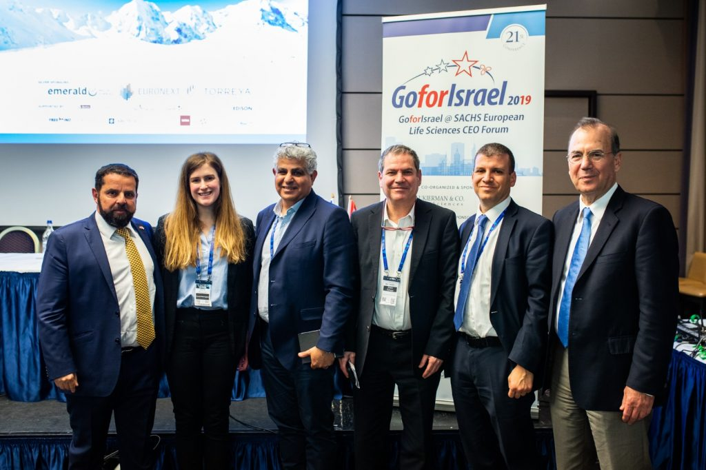 Participants in the GoforIsrael Life Science conference In Switzerland, February 2019. Courtesy