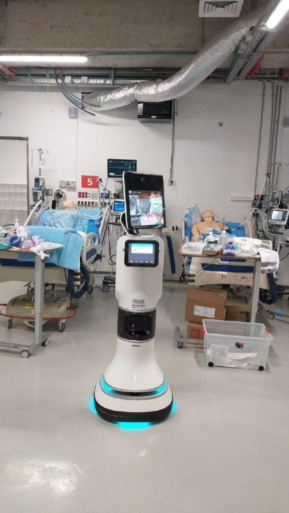 Sheba Medical Center's new underground critical care unit for coronavirus patients. Photo: Sheba Medical Center