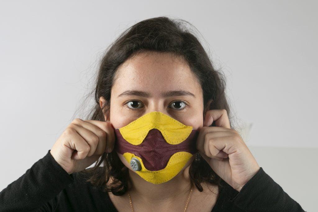 Yael Mordecay masks.