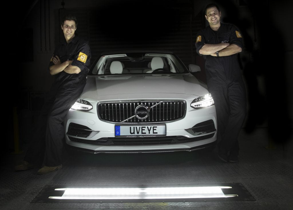 UVeye co-founders: CEO Amir Hever, left, and COO Ohad Hever, right. Courtesy